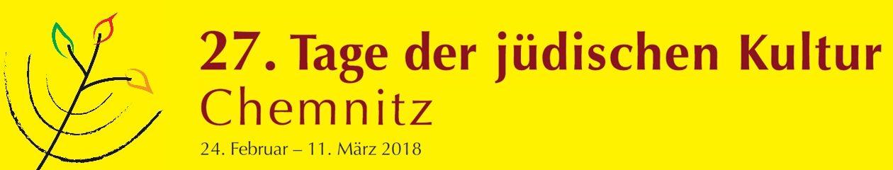 Tage der jüdischen Kultur Chemnitz vom 24.02. - 11.03.2018